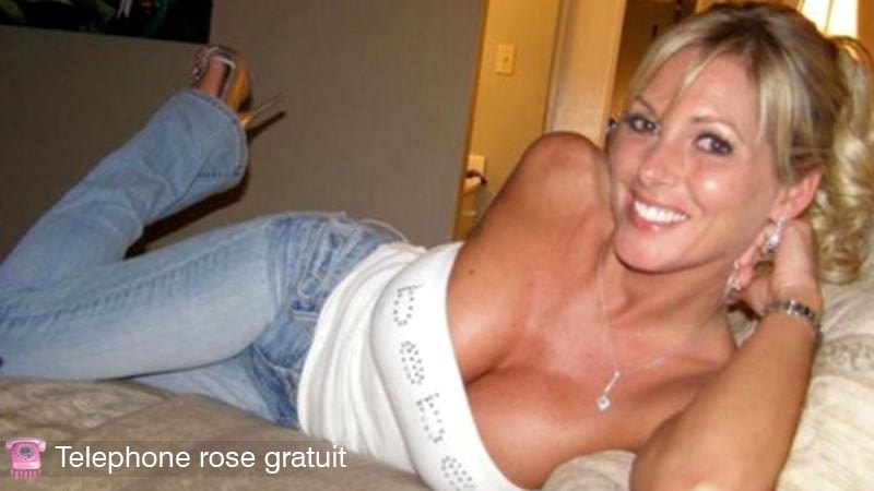 telephone rose gratuit de cougar blonde sexy